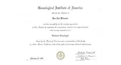 Graduate Gemologist