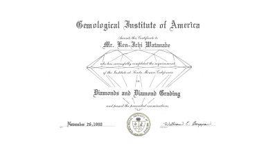 Diamonds and Diamond Grading