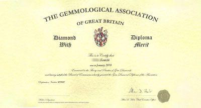 Diamond With Diploma Alerit