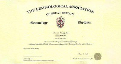 Gemmology Diploma