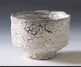 三輪休雪 萩茶碗