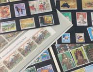 バラの切手ファイル