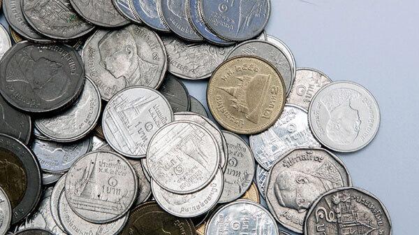 外貨コイン募金