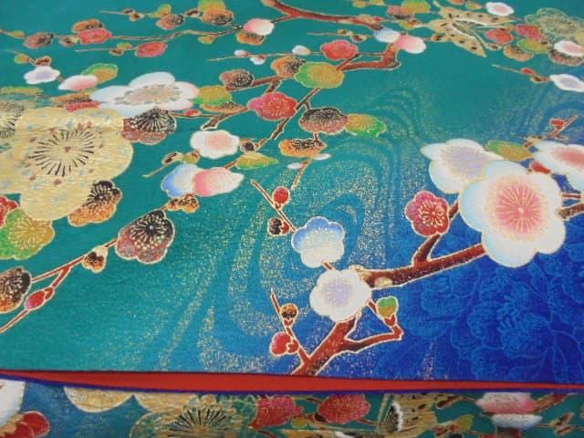 梅柄の着物【屋島店】 香川県高松市にあるザ・ゴールド 屋島店の画像1