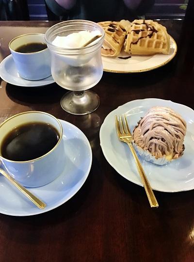 喫茶店のモンブラン【福山東店】 広島県福山市にあるザ・ゴールド 福山東店の画像2