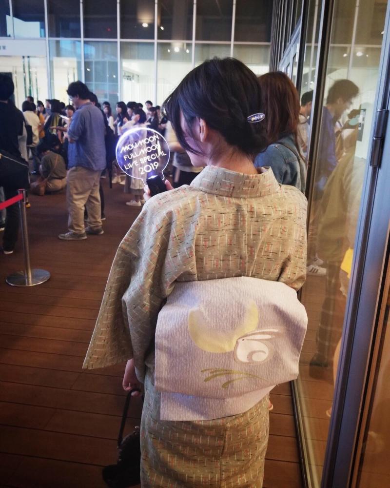 ウールのきものを着てお出かけ・・・ 岡山県岡山市にあるザ・ゴールド 東岡山店の画像2