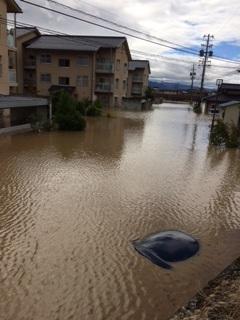 台風19号の被害 【長池店】 長野県長野市にあるザ・ゴールド 長池店の画像2