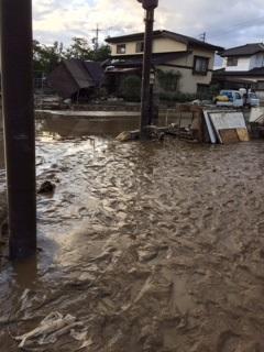 台風19号の被害 【長池店】 長野県長野市にあるザ・ゴールド 長池店の画像3