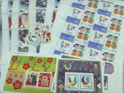 切手シート 【長池店】 長野県長野市にあるザ・ゴールド 長池店の画像1