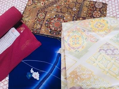 帯・着物の買取が増えております! 長野県安曇野市にあるザ・ゴールド 穂高店の画像2