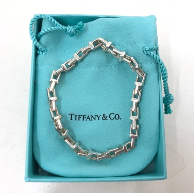 the best attitude 5d727 aa9ff TIFANY&CO Tチェーンネックレス&ブレスレット 【佐久平店 ...