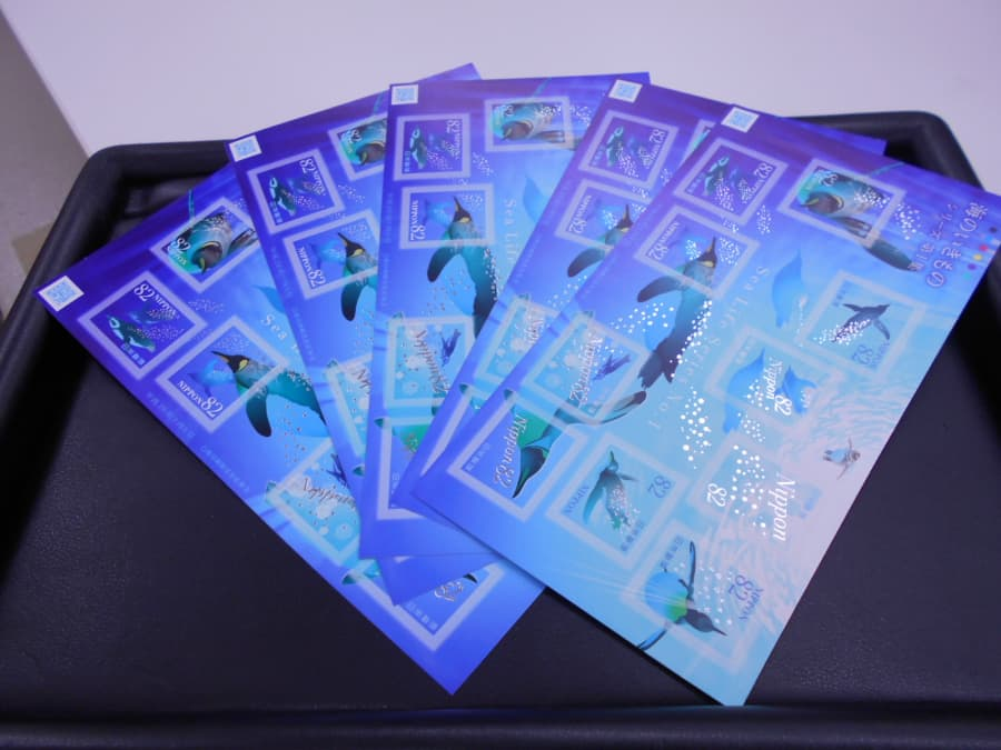 記念切手シート【上田店】 長野県上田市にあるザ・ゴールド 上田店の画像1