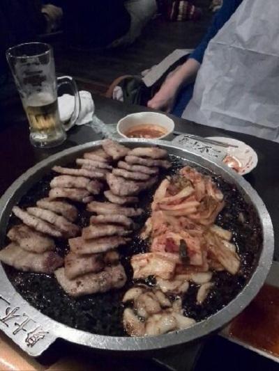 あの「サムギョプサル」食べてきました♪ 【稲里中央店】 長野県長野市にあるザ・ゴールド 稲里中央店の画像3