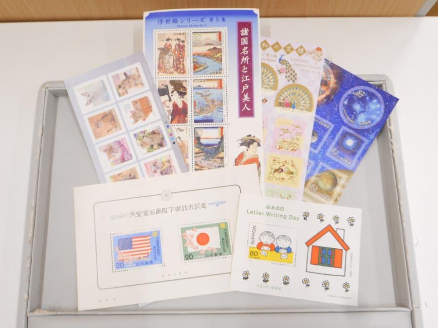 記念切手シート【三条店】 新潟県三条市にあるザ・ゴールド 三条店の画像1