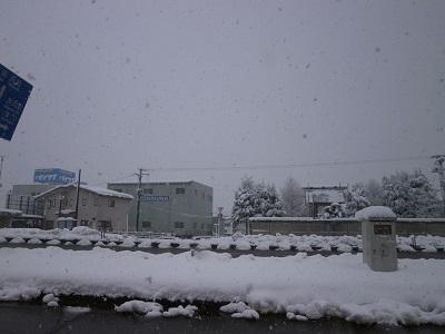 降り続いています。  【長岡店】 新潟県長岡市にあるザ・ゴールド 長岡店の画像2