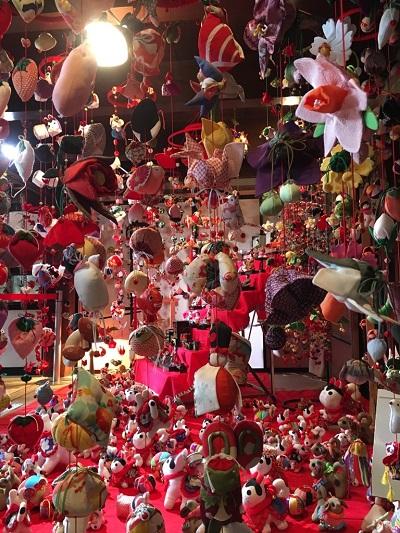 つるし雛飾りまつり【いわき小名浜店】 福島県いわき市にあるザ・ゴールド いわき小名浜店の画像1