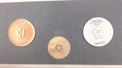 記念メダル 【北上インター店】 岩手県北上市にあるザ・ゴールド 北上インター店の画像1