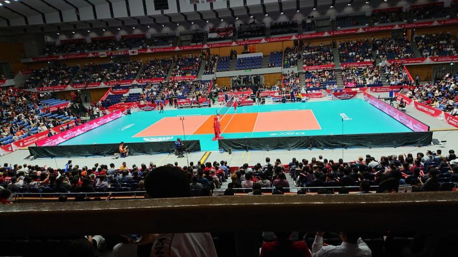 女子バレーワールドカップ【函館店】 北海道函館市にあるザ・ゴールド 函館店の画像1
