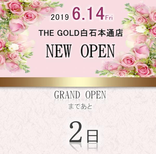 GRANDOPENまであと2日【白石本通店】 北海道札幌市にあるザ・ゴールド 白石本通店の画像2